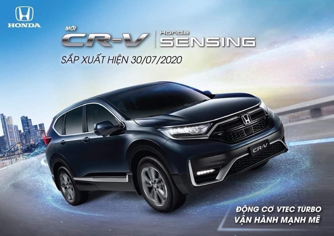 Honda CR-V 2020 facelift phiên bản mới – Honda Ô tô Tiền Giang