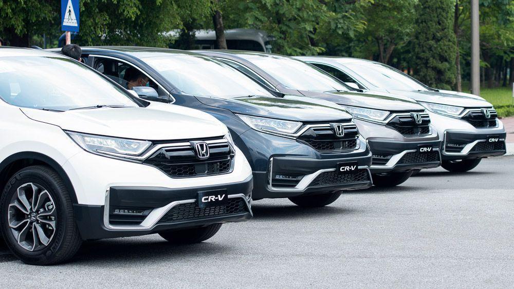 So sánh nhanh 3 phiên bản Honda CR-V 2020