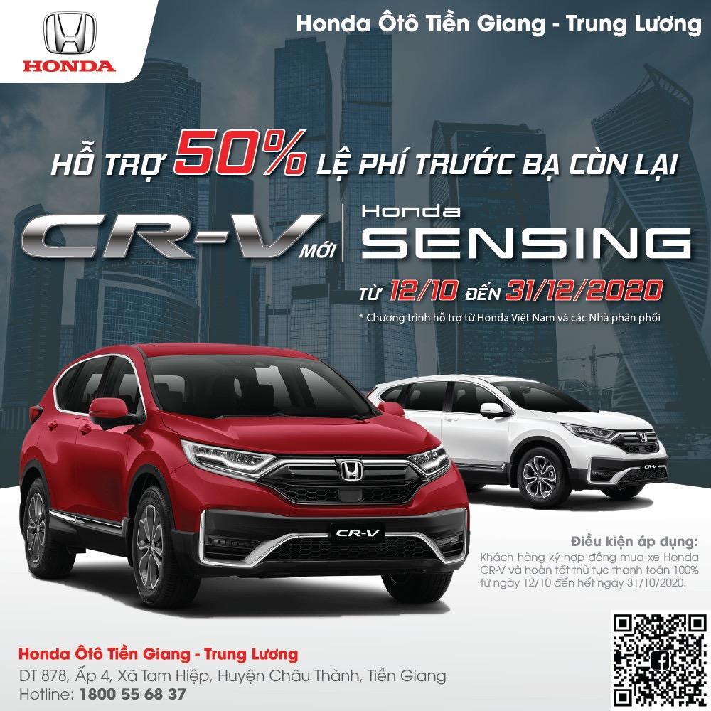 Giá Lăn Bánh Honda CR-V Mới Nhất – Honda Ô tô Tiền Giang