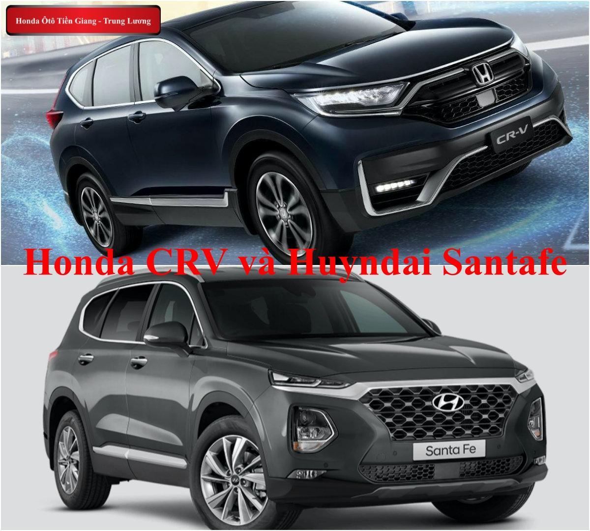 So sánh honda CRV 2020, Mazda CX5 và Huyndai Santafe – Đâu là mẫu xe đáng mua nhất