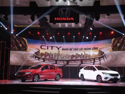 So Sánh 3 Phiên Bản Honda City 2021 - Honda Ôtô Tiền Giang